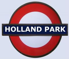Guide to Holland Park Tube Station in London