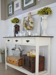 Make Your Console Table Work Harder