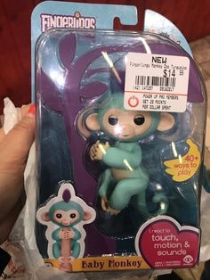 Hot toy this year, WowWee Fingerling Monkey!