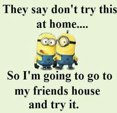 Minion Quotes & Memes Top 40 Funny despicable me Minions Quotes Top 40 Funny despicable me Minions Quotes I love the minions . Lilo & Stitch Quotes, Amazing Animation Film for Children 32 Snarky and Funny Quotes - 30 Hilarious Minions Q. Funny Minion Pictures, Funny Minion Memes, Minions Quotes, Funny Relatable Memes, Memes Humor, Funny Jokes, Images Minions, Funny Quotes With Pictures, Funny Images