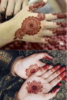 You might be looking for stunning mehndi designs to draw on for the upcoming events. Check out different beautiful and simple mehndi designs. New mendhi design Circle Mehndi Designs, Mehndi Designs For Kids, Finger Henna Designs, Mehndi Designs Book, Modern Mehndi Designs, Mehndi Designs For Beginners, Wedding Mehndi Designs, Mehndi Designs For Fingers, Beautiful Mehndi Design