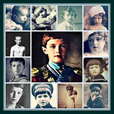 A Collage By Virginia 27 romanovcolors.tumblr.com dedicated to Tsarevich Alexei Nikolaevich Romanov (12 Aug 1904-17 Jul 1918) Russia. 5th child & only son of Tsar Nicholas II Alexandrovich Romanov (1868-17 Jul 1918) Russia & his wife Alix-Alexandra (Alix Victoria Helena Louise Beatrice) (Alexandra Feodorovna) (6 Jun 1872-17 July 1918) Hesse, Germany.