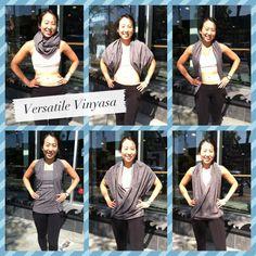Lululemon vinyasa scarf how to wear