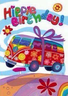 Have a Very Happy Hippie Birthday 🎈🌼🎂✌🌻🎁🎈 Happy Birthday Pictures, Happy Birthday Messages, Happy Birthday Quotes, Happy Birthday Greetings, Birthday Posts, Birthday Love, Sister Birthday, Happy Birthday Hippie, Happy Hippie