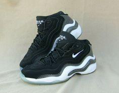 85c752b9b NIKE Air Zoom Flight 96 Black Carbon Basketball Shoes 317980-002 Men's 7.5  #fashion #clothing #shoes #accessories #mensshoes #athleticshoes (ebay link)