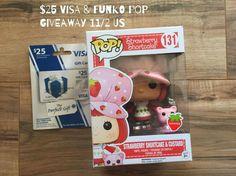 Strawberry Shortcake Funko POP Giveaway w/ a $25 Visa gift card!! (ends 11/1)
