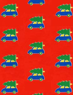 Marimekko Christmas wrapping from the early 1980s