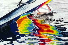 Water Color in colored pencils by Gary Greene