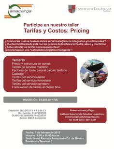 #Taller: Tarifas y Costos: Pricing | 07 de Febrero de 2013 | México DF