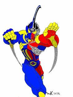 bio booster armor guyver/kikaider