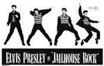 Poster:Rock-Elvis Presley Jailhouse Rock