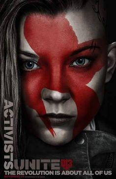 Activists poster Hunger Games Mockingjay Part 2
