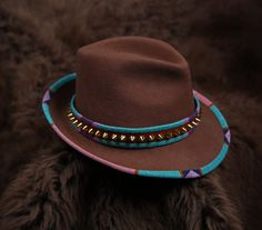 Stella beaded hat by Jamie Okuma Native American Dress, Native American Fashion, Native Fashion, Native Beadwork, Native American Beadwork, African Accessories, Clothing Accessories, Native Wears, Native Shoes