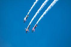 - Flying Bulls Aerobatic Trio - by Graziella Serra Art & Photo on