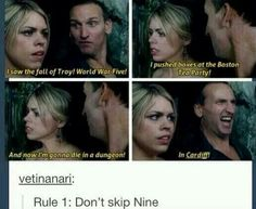 Don't skip nine. He was....um..., fantastic