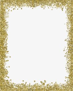 Gold color border,frame PNG and Clipart