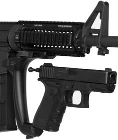Universal Tactical Attachment For Glock  Too cool!!  Shut up and take my money!