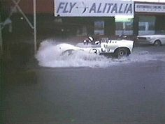 I think Jim Hall needs some scuba grear to survive Sebring.