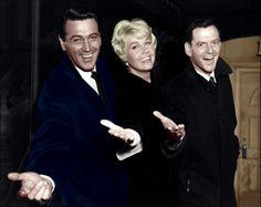 Rock Hudson, Doris Day & Tony Randall