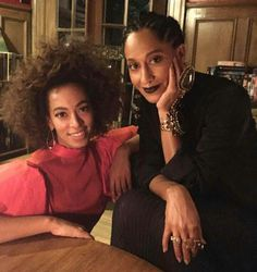 Solange and Tracy Ellis