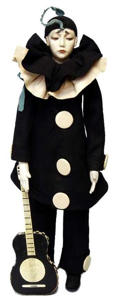 The Lenci Doll Collector: Claire Windsor's Lenci dolls . Lenci Pierrot dolls were popular in the 1920's
