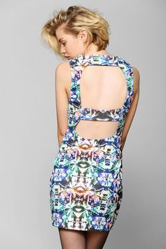 Backstage Runaway Bodycon Dress #urbanoutfitters