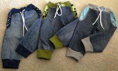 Was machen mit alter Jeans? Schnittmuster Jogging Rockers von mammahoch2