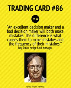 Trading Card An Excellent Decision Maker by Ray Dalio Business Card Maker, Cool Business Cards, Day Trading, Trading Cards, Analyse Technique, Ray Dalio, Profile Website, Stock Market Quotes, Hedge Fund Manager