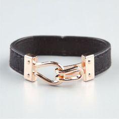 Hook & Eye Faux Leather Bracelet $6 Buy One, Get One 50% Off