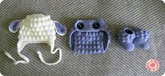 Crochet Diaper Cover / FREE pattern