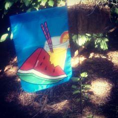 summertime garden flag #goodwill