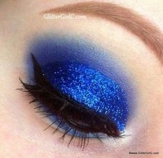 trendy makeup tips for teens blue eyes hair colors Eye Makeup Blue, Prom Makeup For Brown Eyes, Blue Eyeliner, Black Girl Makeup, Makeup For Teens, Melt Cosmetics, Sugarpill Cosmetics, Eyeshadows, Dramatic Wedding Makeup