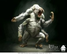 John Carter - Character Design and Concept Art by Michael Kutsche