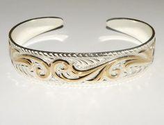 Vintage Montana Silversmith Western Jewelry Swirly by Eosophobish, $15.00