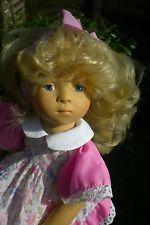Götz Puppe 36 cm Sylvia Natterer SN blond Fanouche Künstlerpuppe Gotz Doll 03