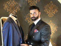 Sartoria su Misura a Modena Made To Measure Suits, Blazer, Jackets, Men, Fictional Characters, Fashion, Down Jackets, Moda, Fashion Styles