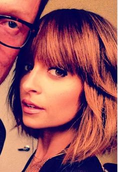 If I ever go for short hair. Love Nicole Richie's