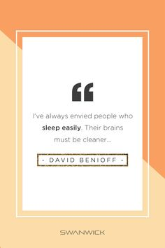Our guess is, people who sleep easily are Swannies-wearers. Sleep Quotes, Sleep Quality, Natural Solutions, Wise Words, People, Word Of Wisdom, People Illustration, Folk, Sleeping Quotes