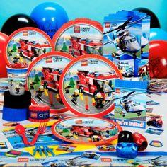 LEGO City party theme