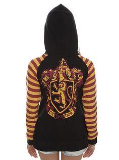 Harry Potter Gryffindor Crest Girls Zip Hoodie | Hot Topic