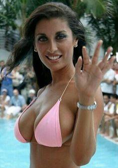 Girl bikini ugly sling