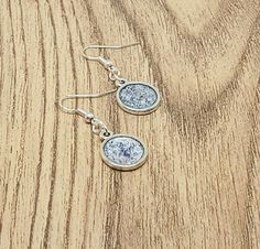 Check out this item in my Etsy shop https://www.etsy.com/uk/listing/482686634/silver-glitter-earrings-wedding