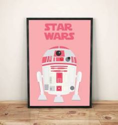 poster star wars pink 30x40cm