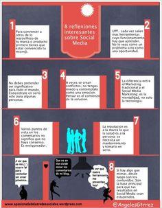 8 reflexiones interesantes sobre Social Media « Infografías de marketing :: http://infografiasmarketing.wordpress.com/2013/01/22/8-reflexiones-sobre-social-media/