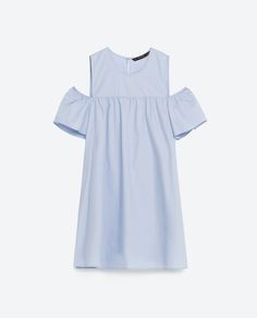 Image 8 of CUT-OUT DRESS WITH FRILLY SLEEVES. from Zara