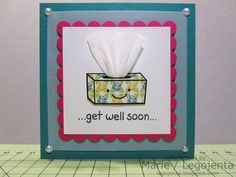 My Creative Creations - handmade by Marie: get well soon card