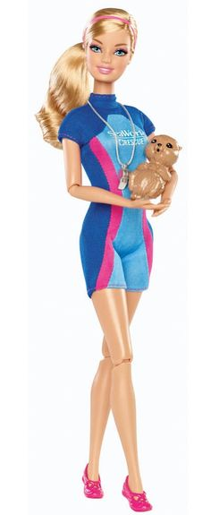 Barbie certainly loves animals, especially sea creatures! #BarbiesFavorites