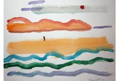 Serene Abstract Seascape