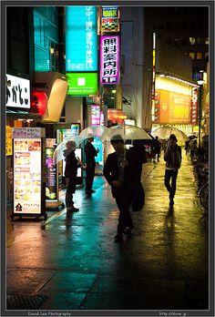 City rain-photo by David Lee