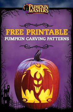Free printable skeleton scary halloween pumpkin carving stencils patterns ideas pumpkin - Charming halloween decoration using love pumpkin carving ...